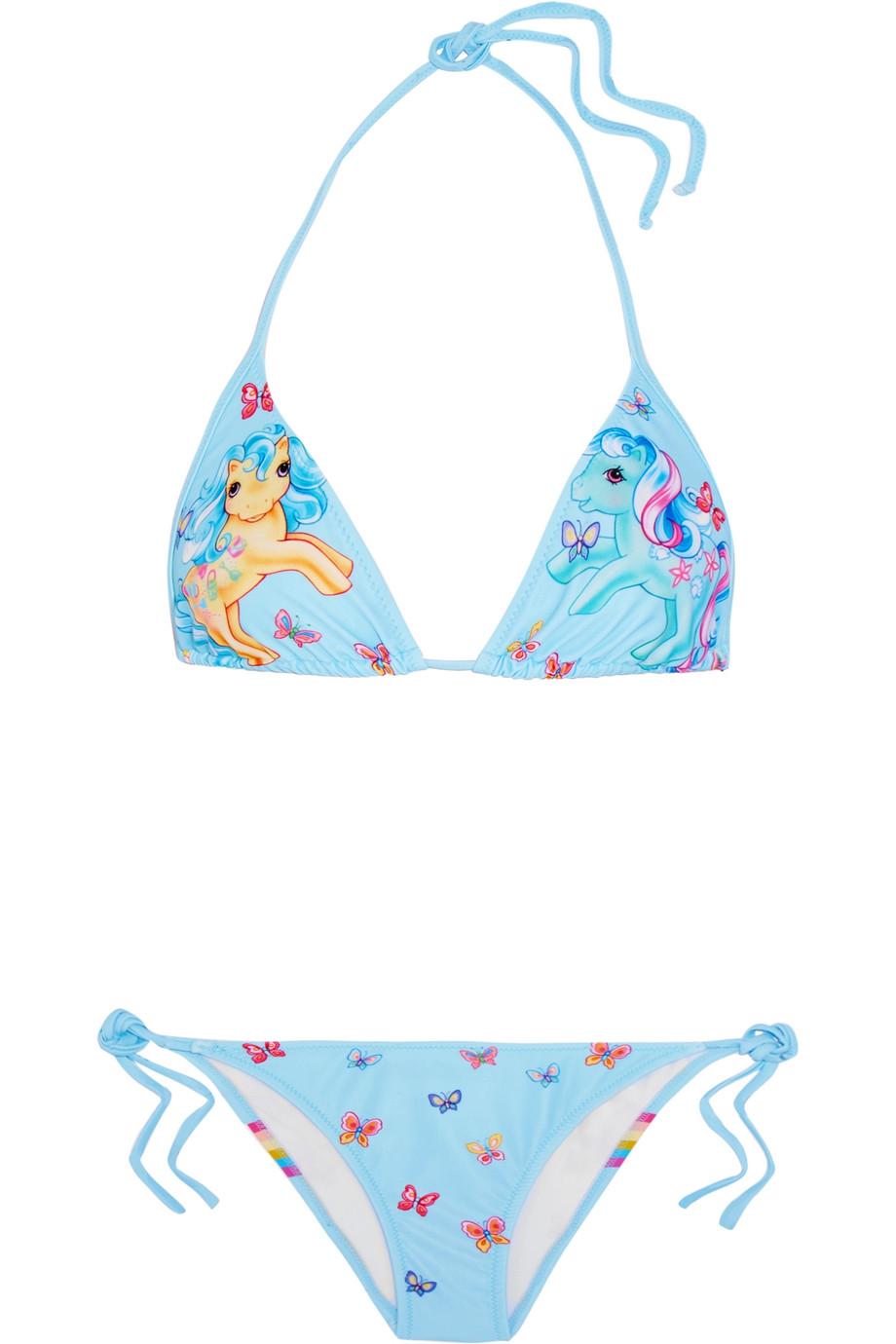 Bikini,  Moschino : 250$