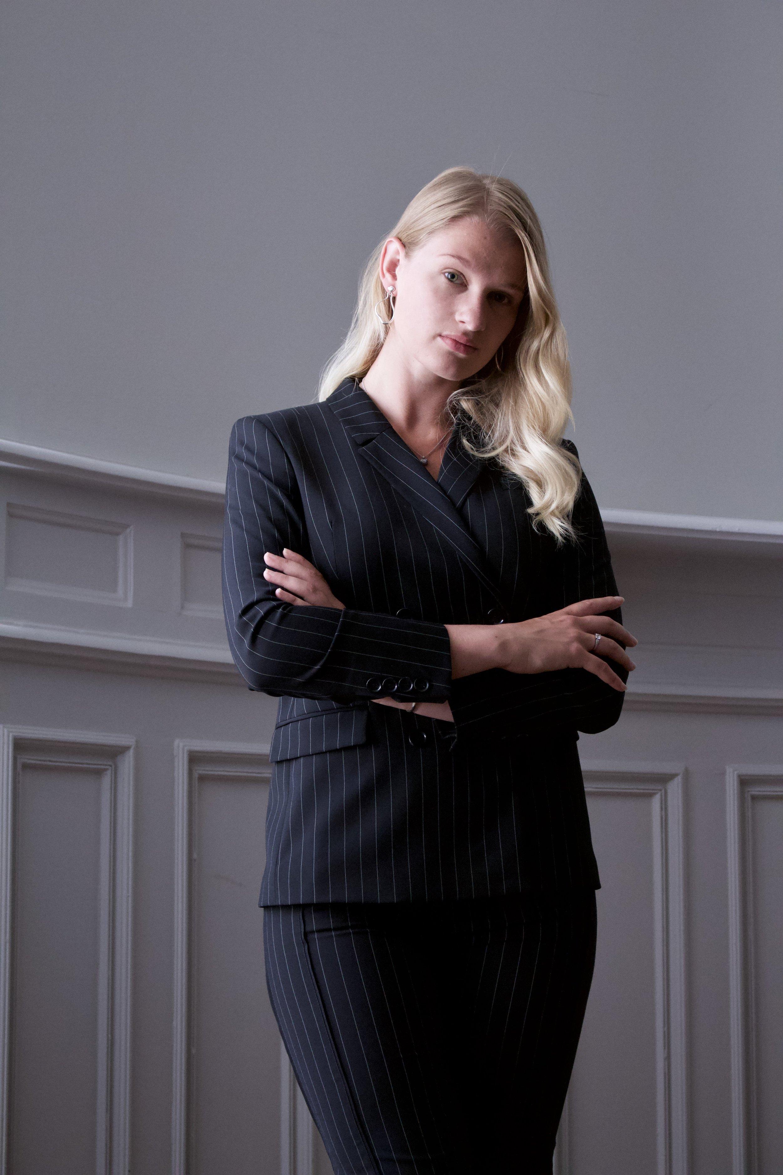 Anna Svahn, bland annat projektledare på Feminvest.
