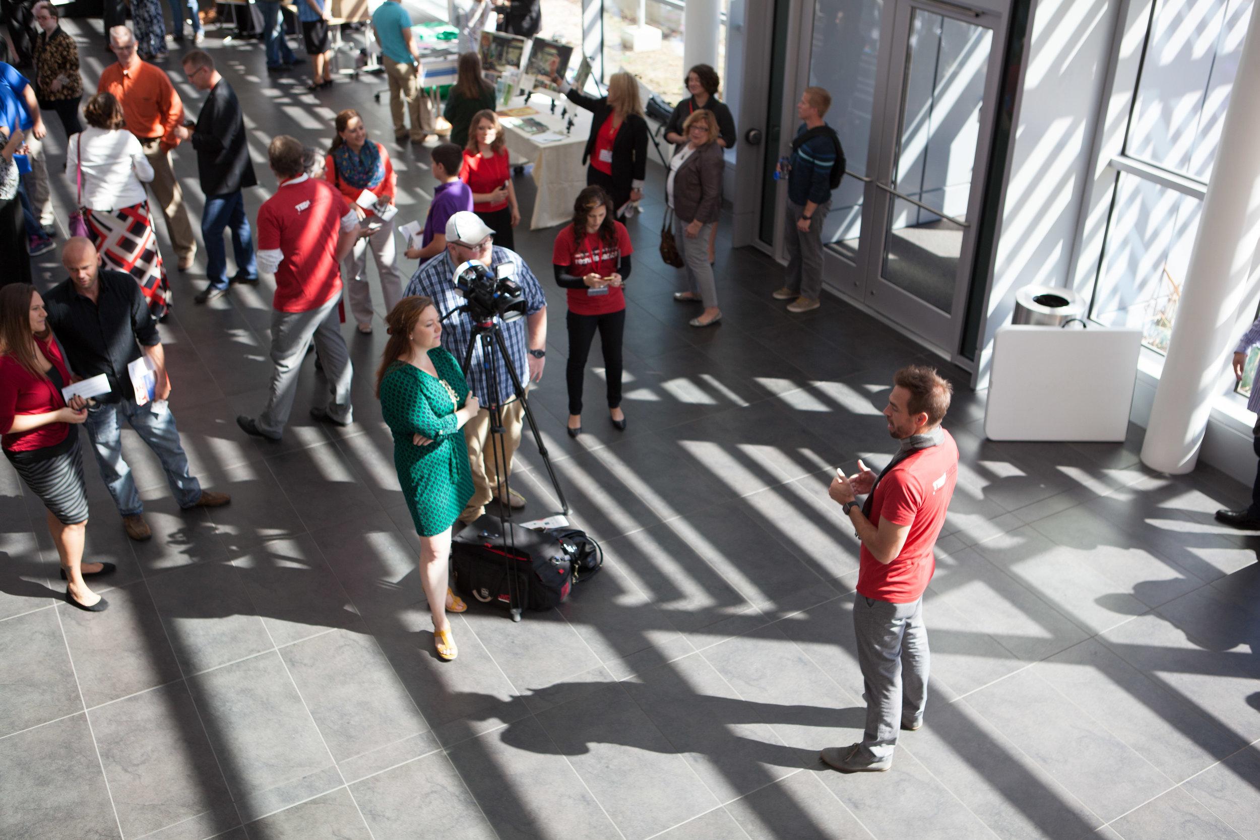 TEDxEvansville 2015 Lobby Interview