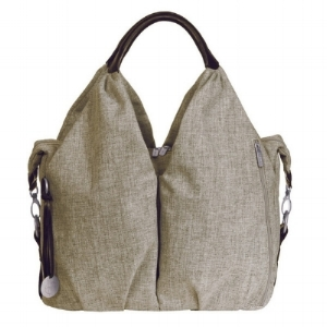 LASSIG diaper bag - We have it in a cool robin's egg blue! :)