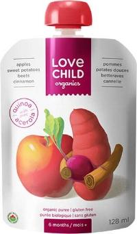 Love Child Organic Puree Pouches
