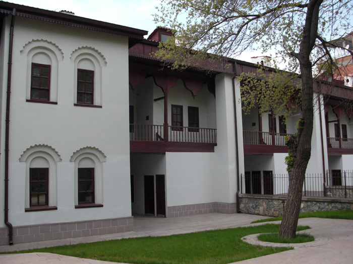 The back courtyard of the Ethnography Museum. c/o    T.C. Kültür ve Turizm Bakanlığı