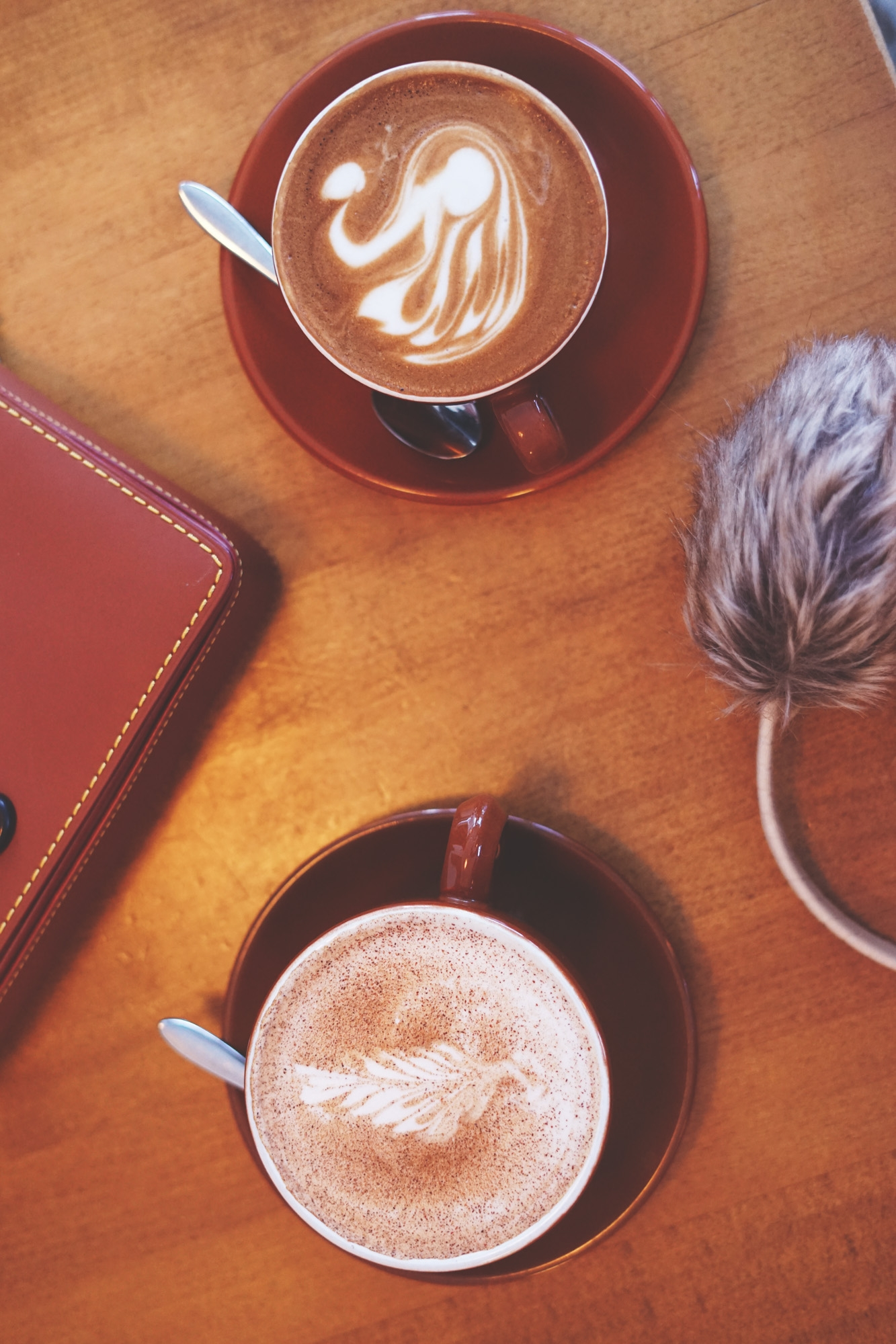From lattes to hot cocoa, you won't be disappointed in the foam art. No cup left behind.