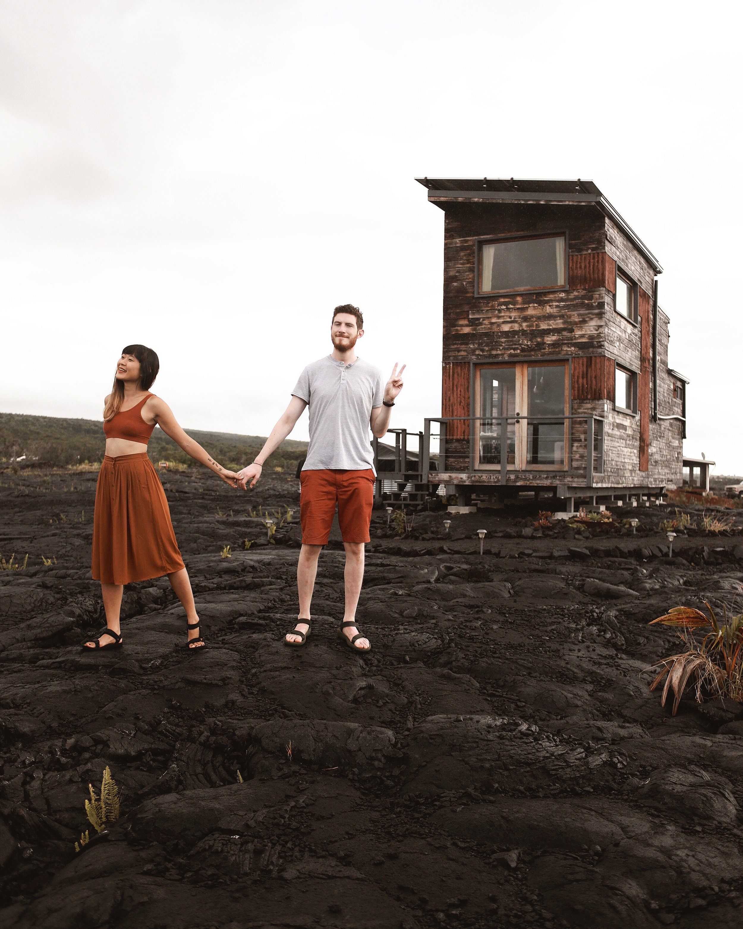 The Big Island, Hawaii | Off-the-Grid Airbnb Adventures | Phoenix House Lava Field | Where to Stay