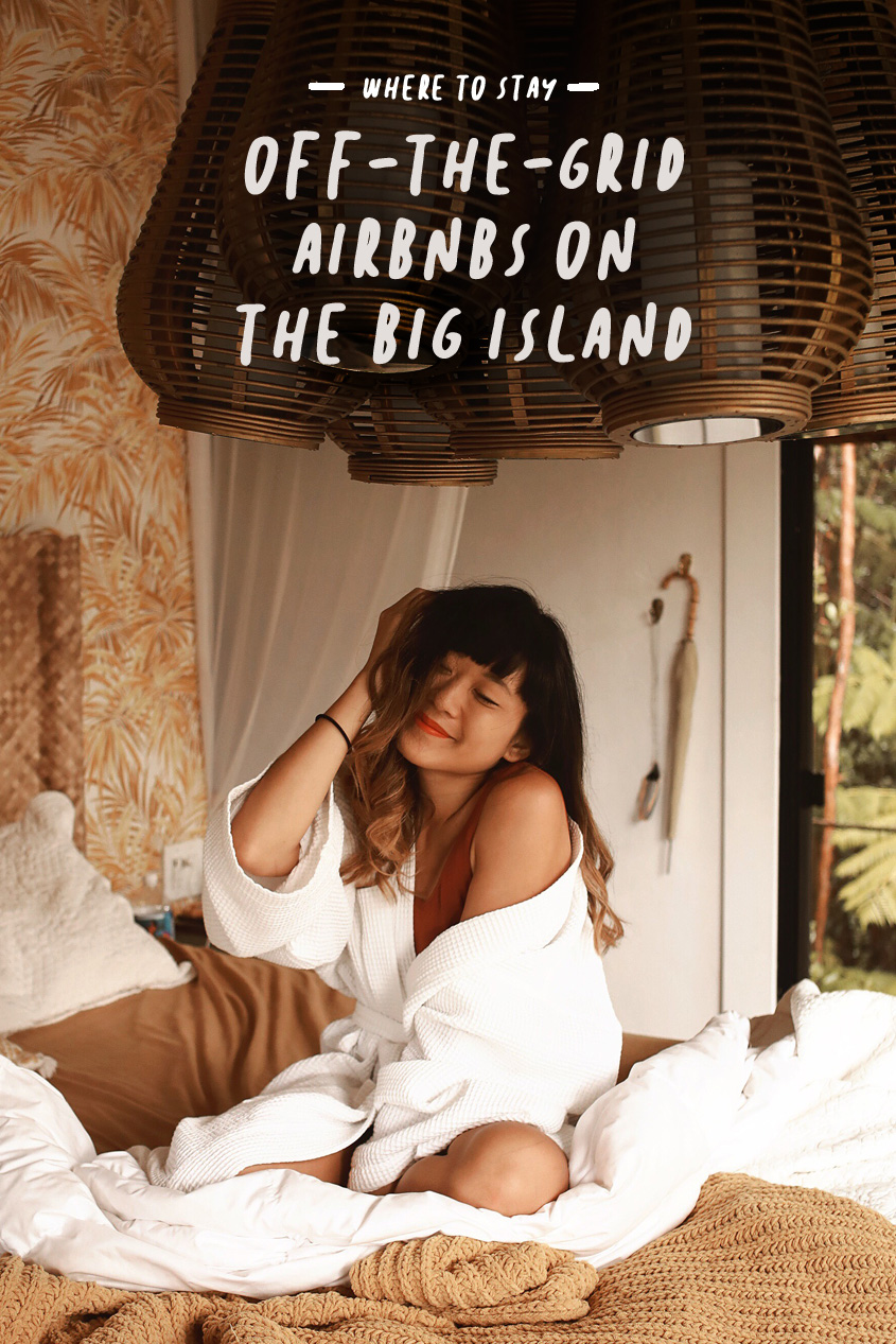 Where To Stay on the Big Island, Hawaii | Off-the-Grid Airbnb | Treehouse | #Wanderlust | Travel Guide