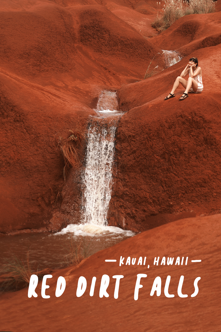 And Away We Went Travel Blog | Kauai, Hawaii | Red Dirt Falls | Easy Hikes | #Wanderlust