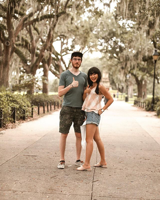 Now that the weather is finally warming up, it's reminding us of the humidity of Savannah. Missing all that Spanish moss and all the ghosts. 👻