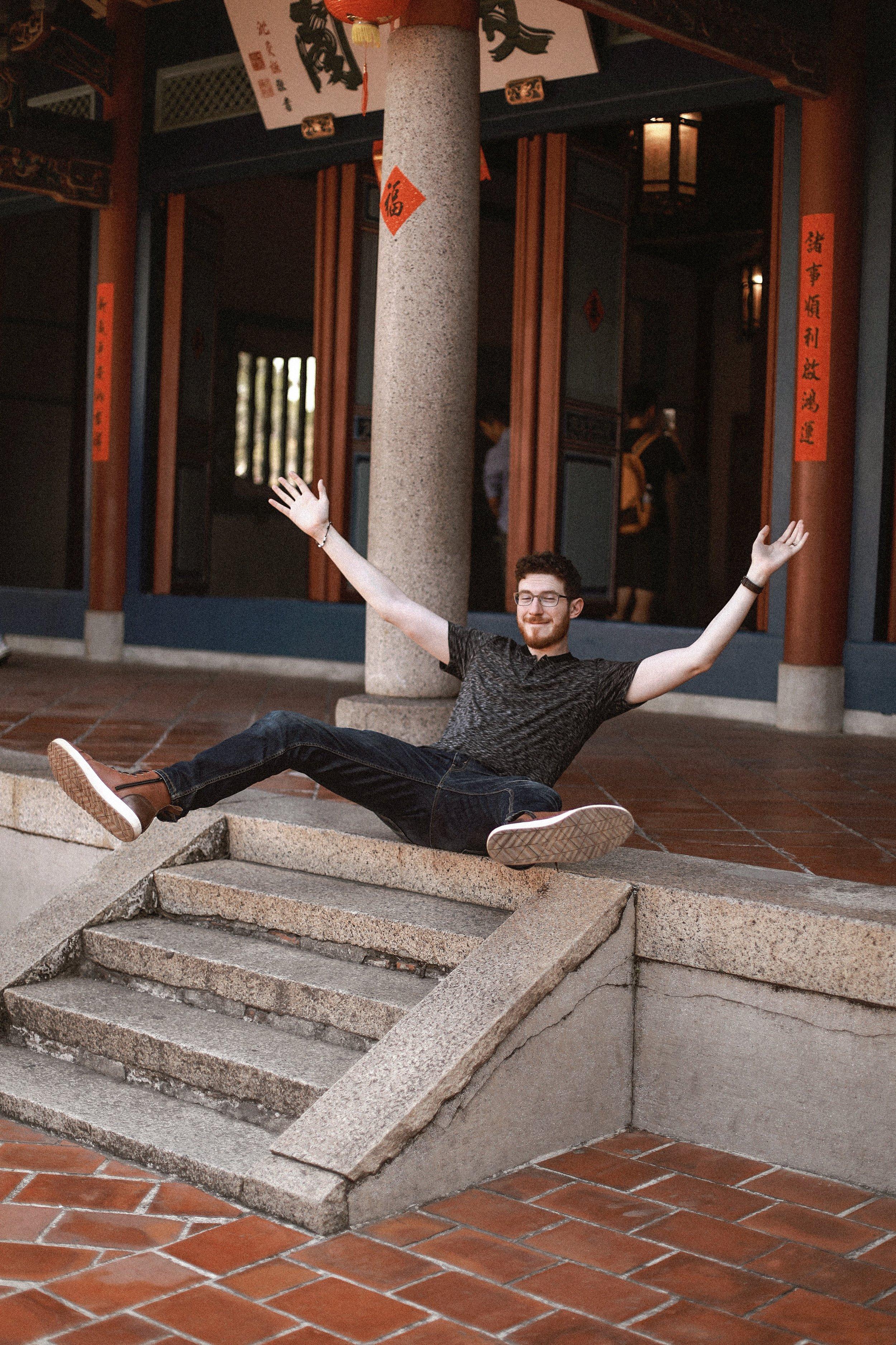 Chihkan Tower - Tainan - And Away We Went
