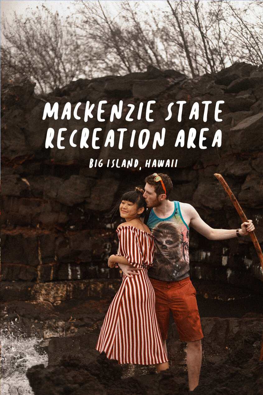 Hiking at MacKenzie State Recreation Area   Big Island, Hawaii   Lava Flow   #Wanderlust   Haunted