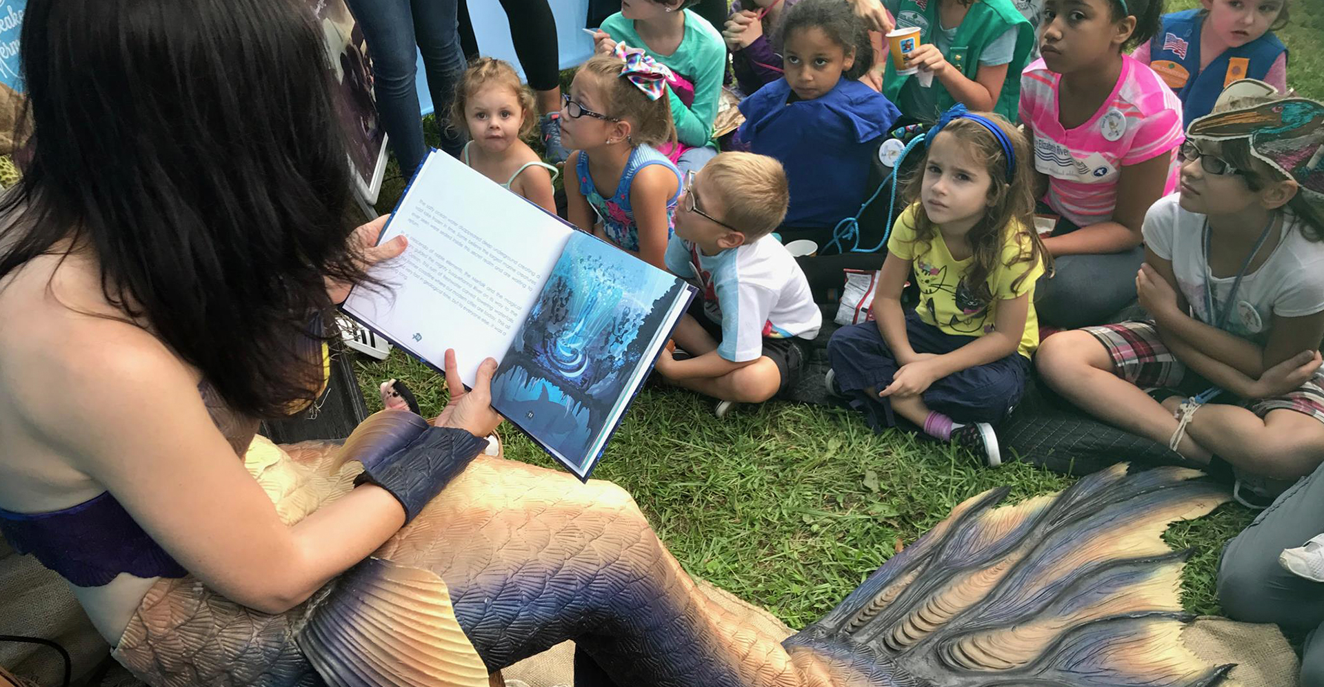 The Chesapeake Mermaid will bring her new book on tour beginning this spring.