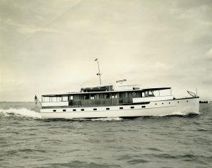 The 1939 72-foot Trumpy Yacht  Drifter