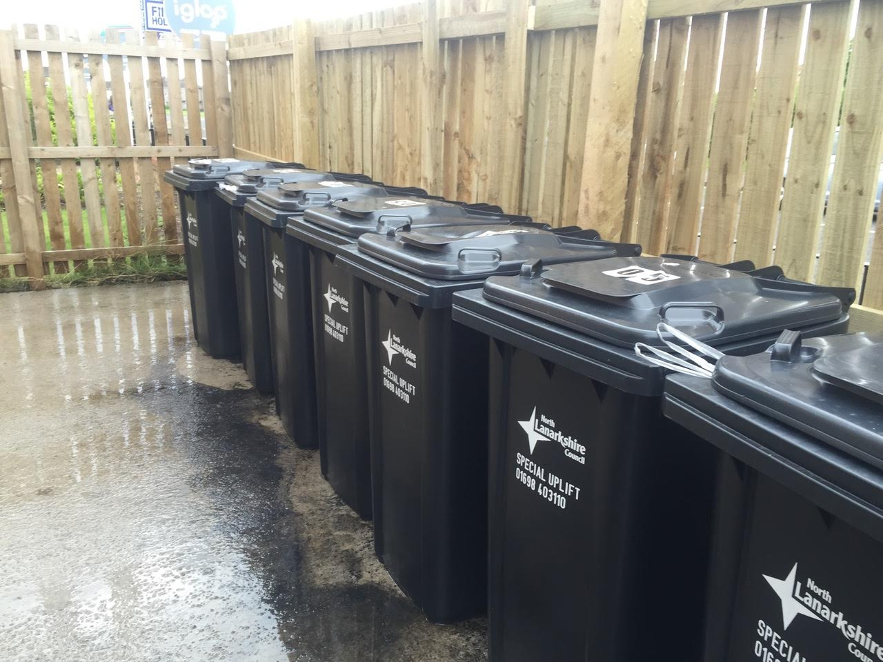 Bin Store Maintenance    Washing service details