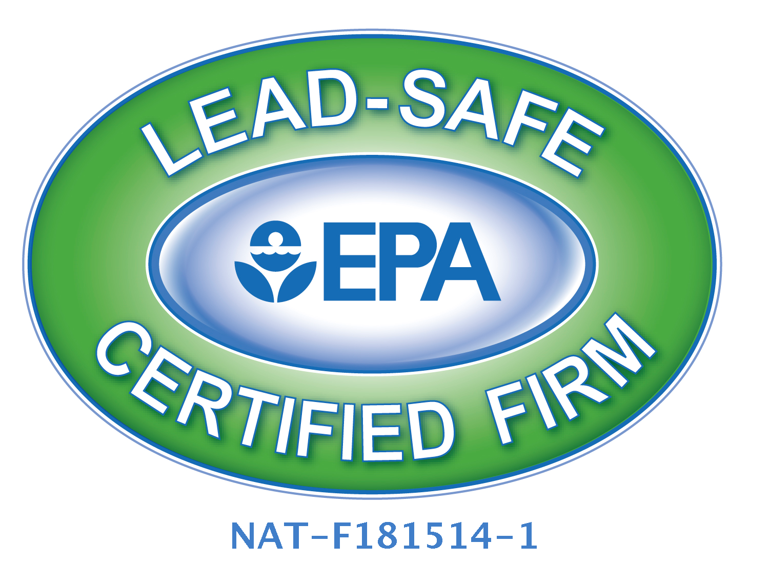 We are an EPA Certified Lead Renovator -