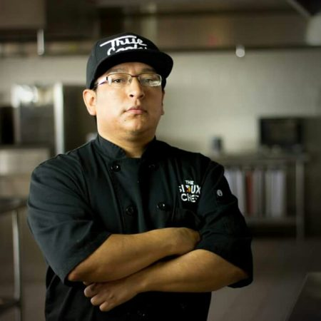 Brian Yazzie Chef de Cuisine at The Siox Chef in Minneapolis, Minnesota