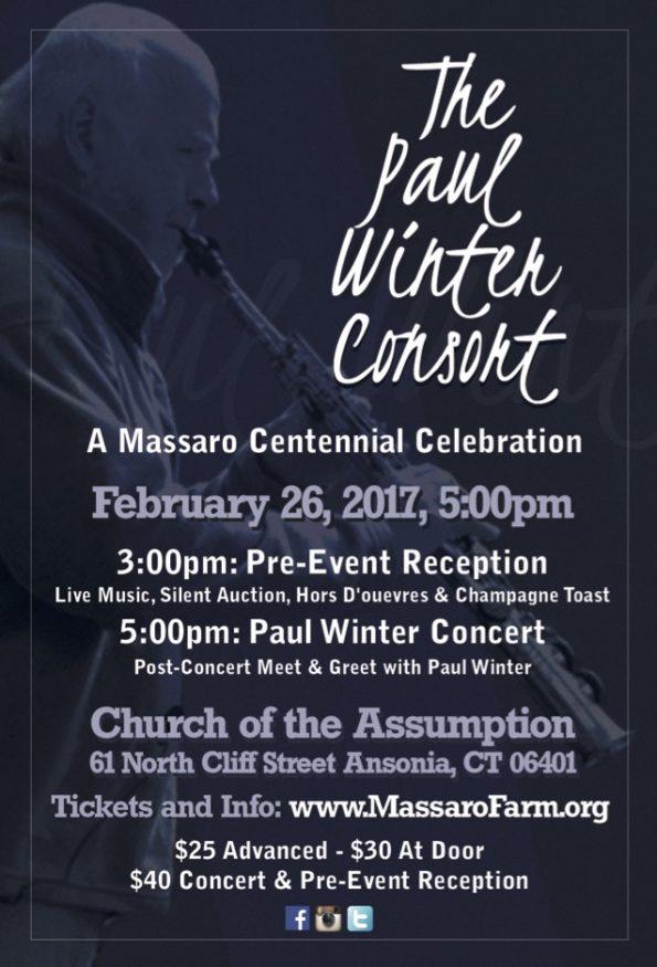 Benefit Concert for Massaro Farm
