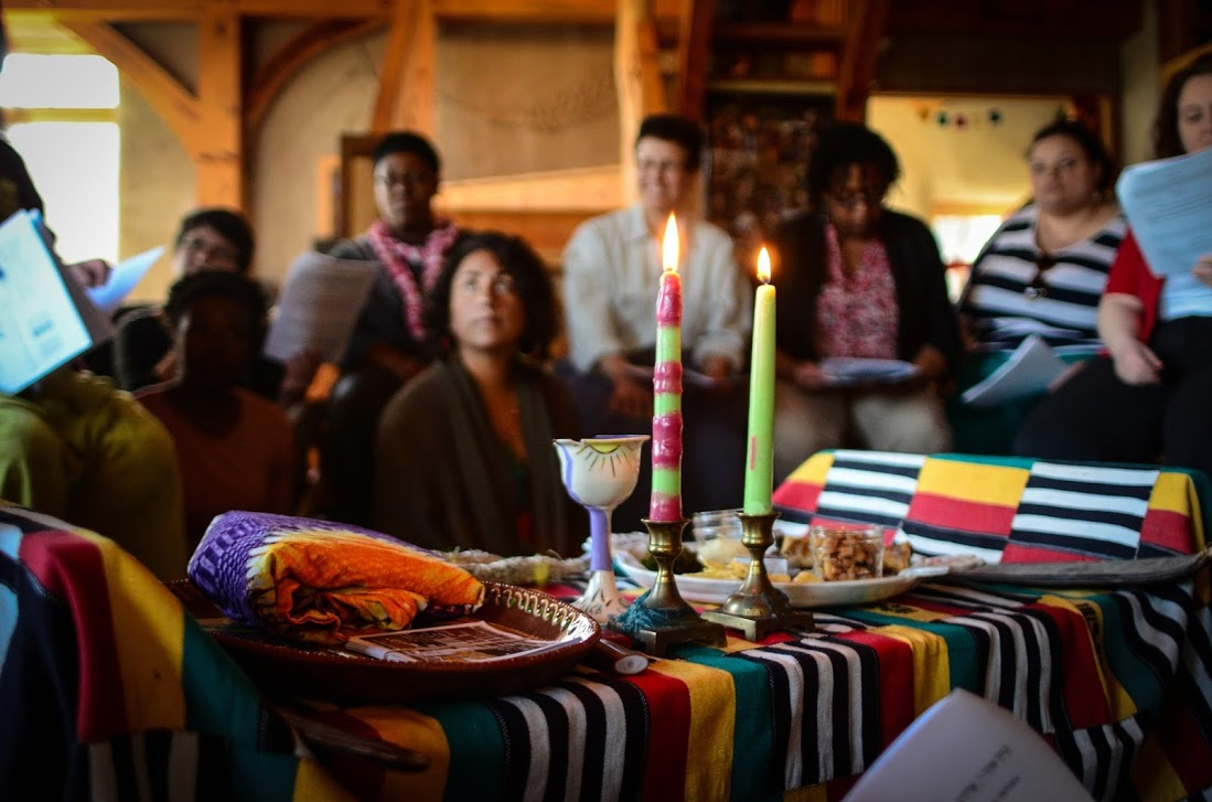 Black Jewish people and their friends and families gather at Soul Fire Farm for the annual Afro Seder, a melding of Jewish and African diaspora traditions and stories about liberation.