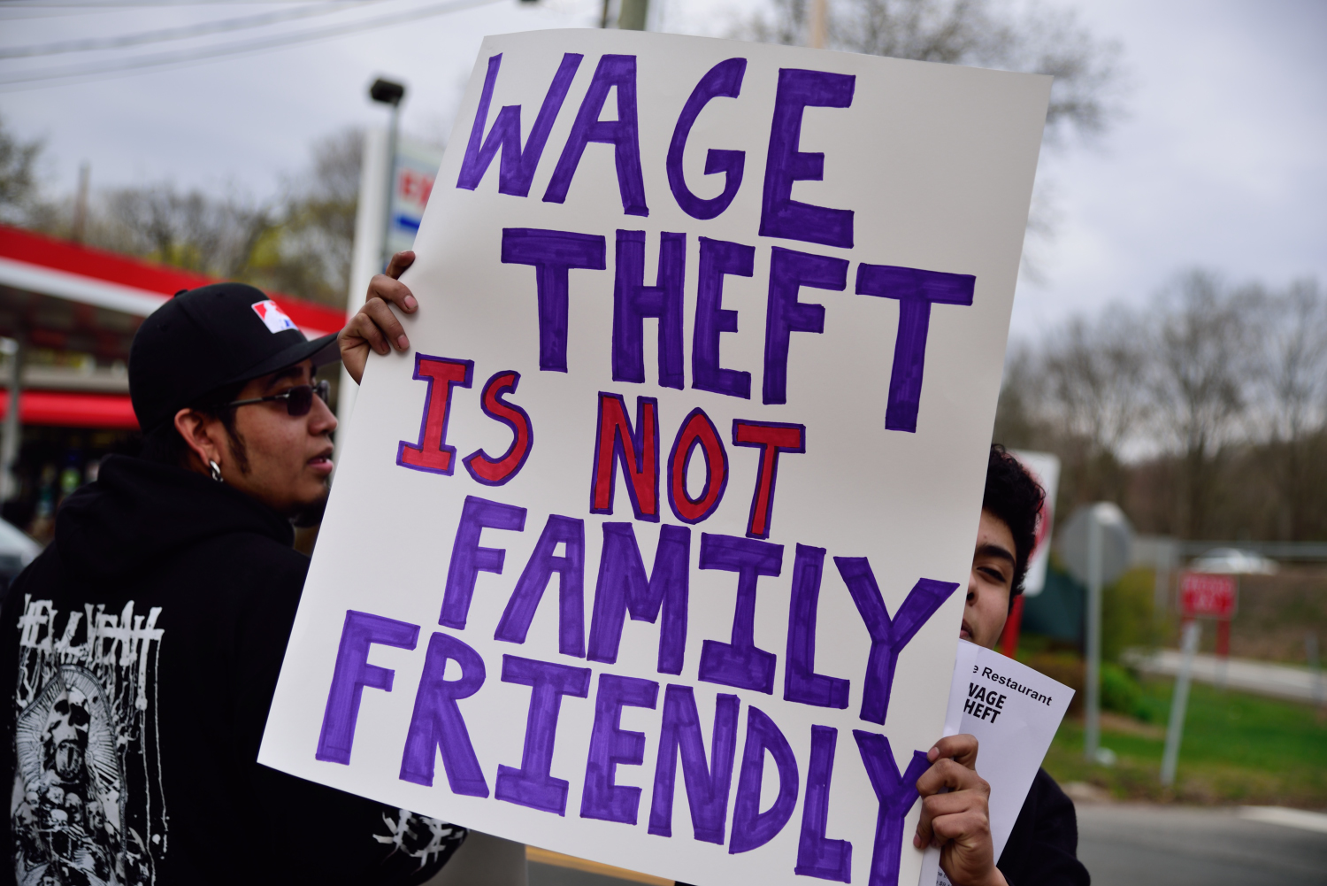 Six former workers file a federal lawsuit claiming multiple abuses such as wage theft, intimidation and physical threats by the owners of the Townhouse restaurant in Hamden, CT.