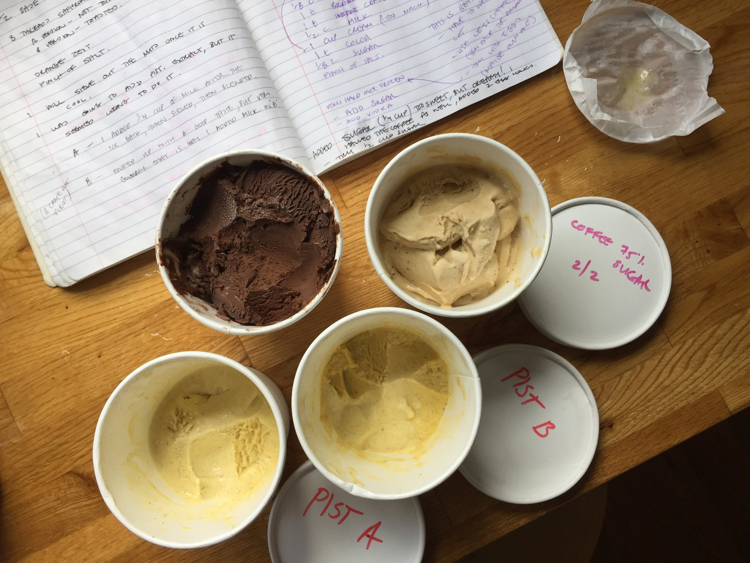 Taste testing the many many flavors of What is Real Ice Cream....Fun and Yum!
