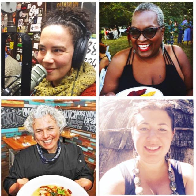 Clockwise from top left: Tagan Engel, Babz Rawls Ivy, Rachel Sayet, Franco Comacho