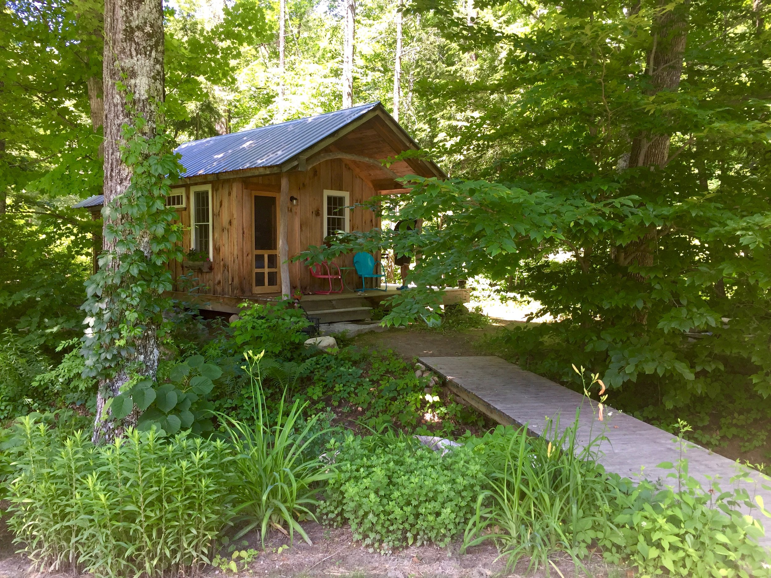 Rock River Cabin in Newfane, VT