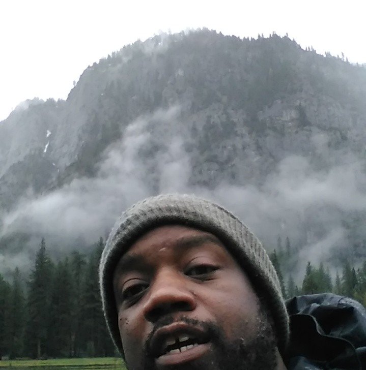 Alife in the mountains, during the Outdoor Afro environmental training at Yosemite National Park