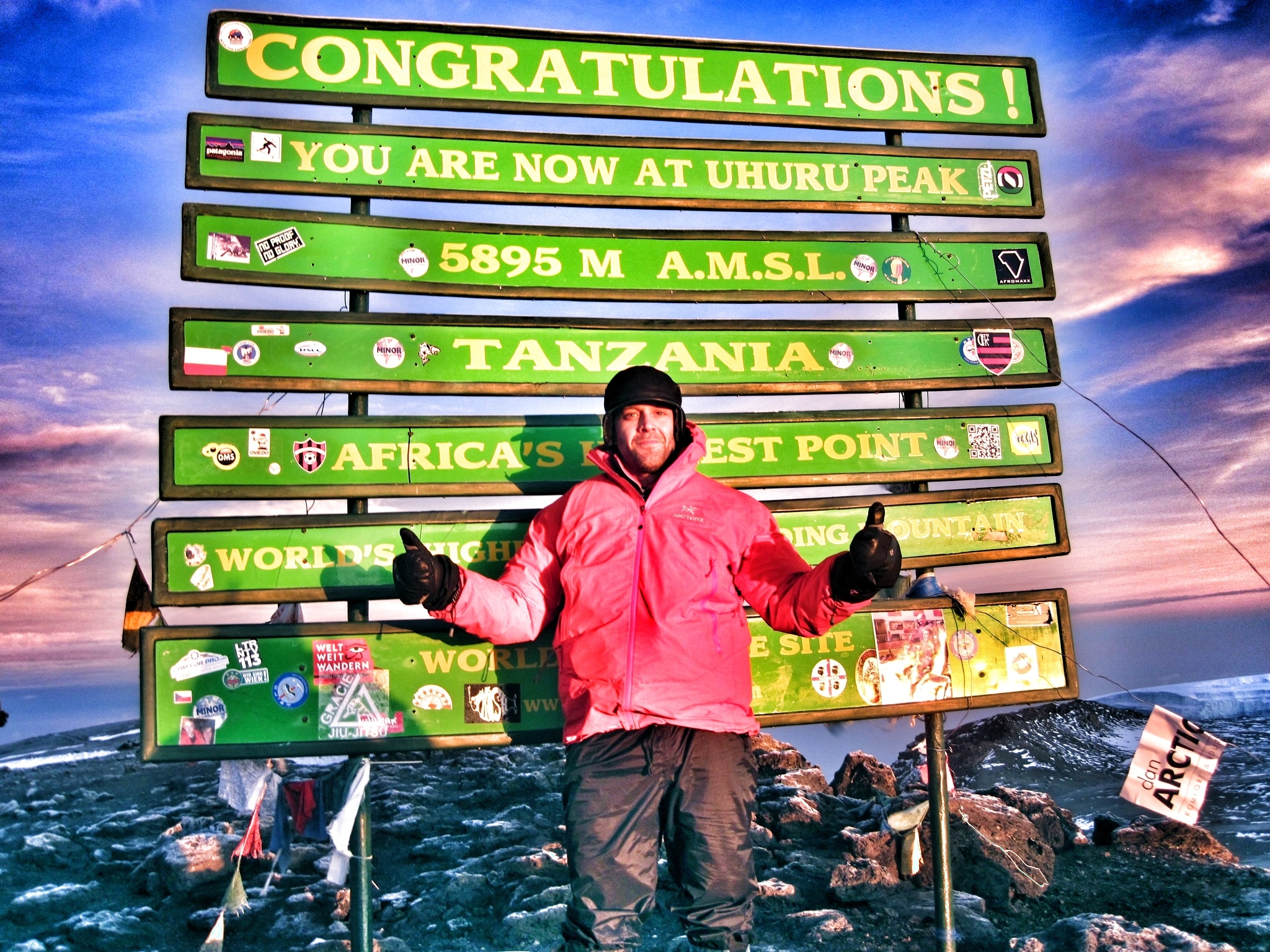 My climb to Mt. Kilimanjaro in 2012