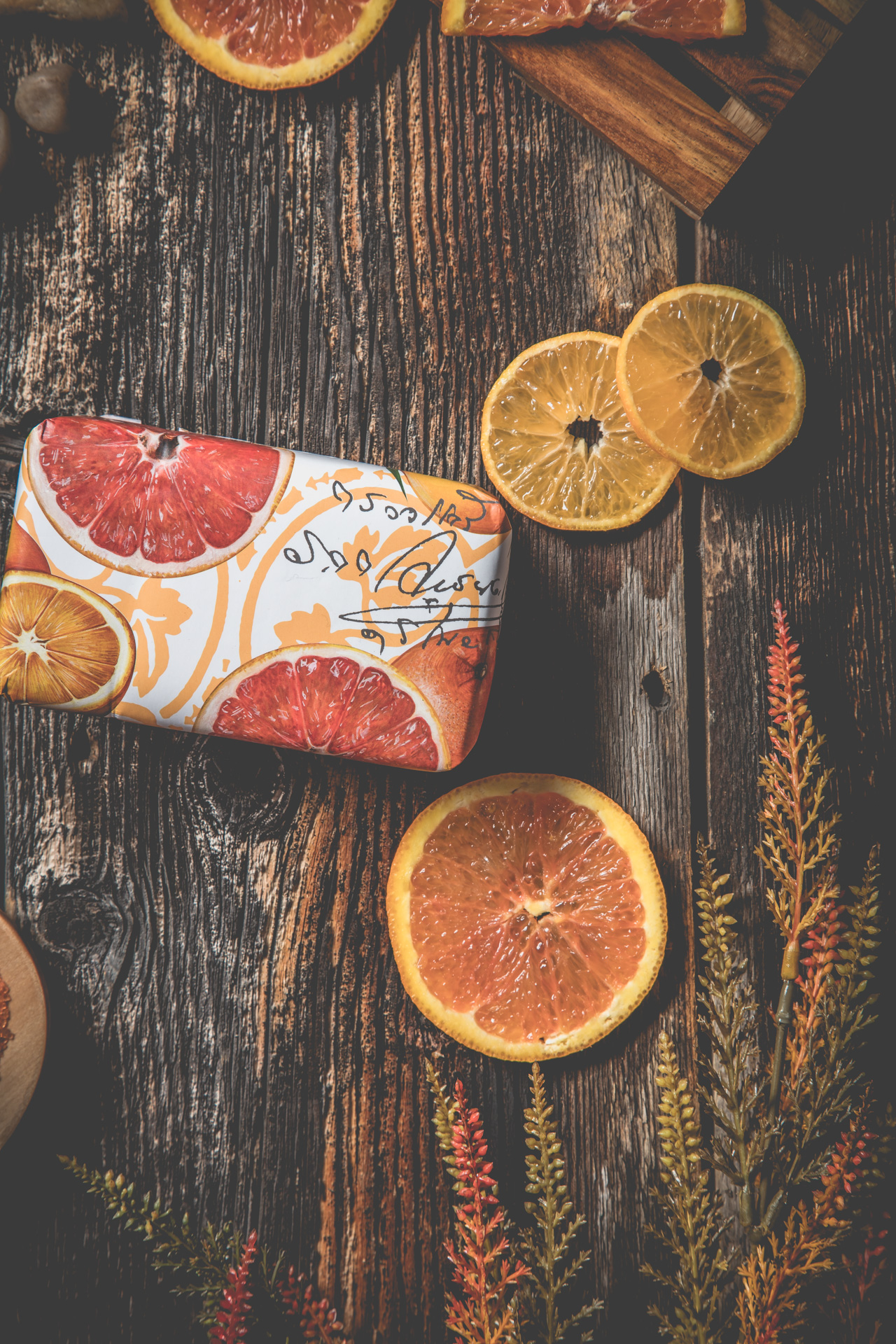 Sabrina Belzil-photographe-PixelFabrique-douceur-orange-savons-produit-vente-en-ligne