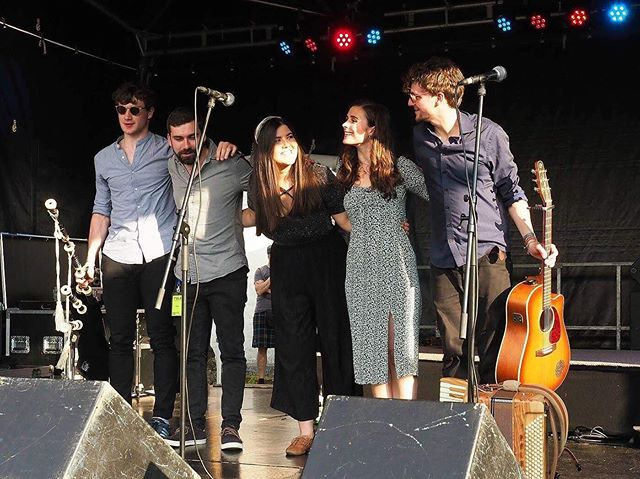 We had the best time in Germany performing at Folk Am Neckar. Thanks so much to all the team for treating us so well, what a great Festival!
