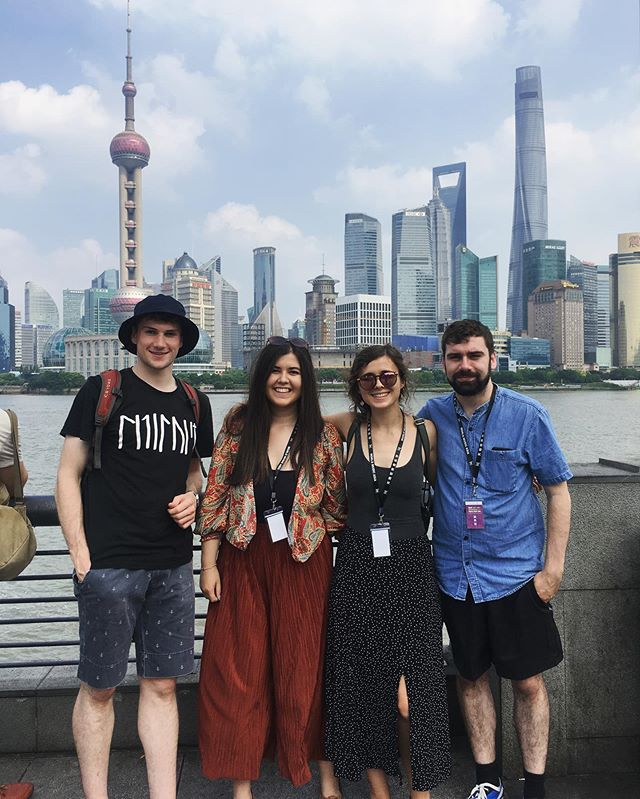 It's day 3 of our tour in Shanghai and we are having an absolutely fantastic time! 🇨🇳 🎻🎉