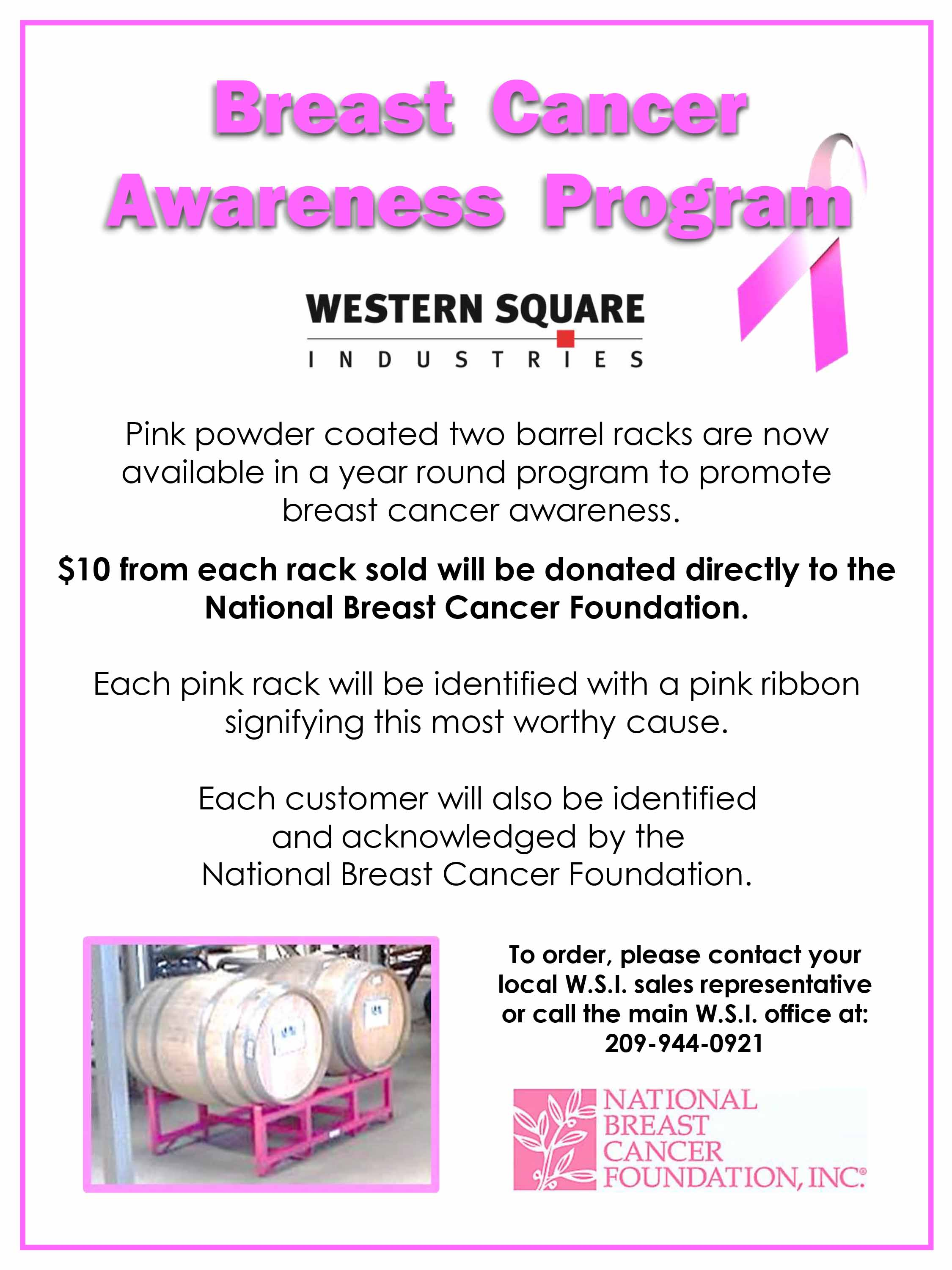 Breast Cancer Awareness Pink Rack Sales Program.jpg