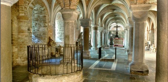H. Hermès te Ronse - Romaanse crypte