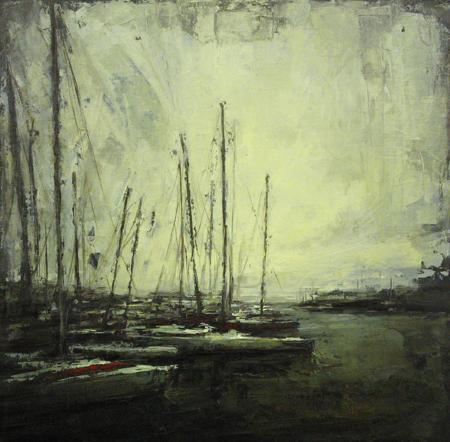 Marina Boats at Dusk