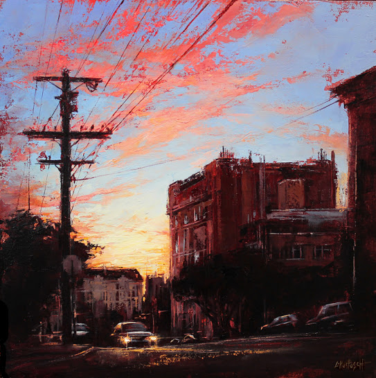 Russian Hill at Dusk