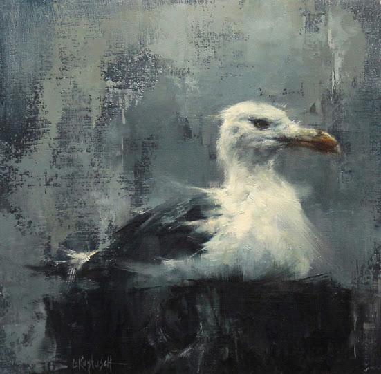 Gull in the Mist