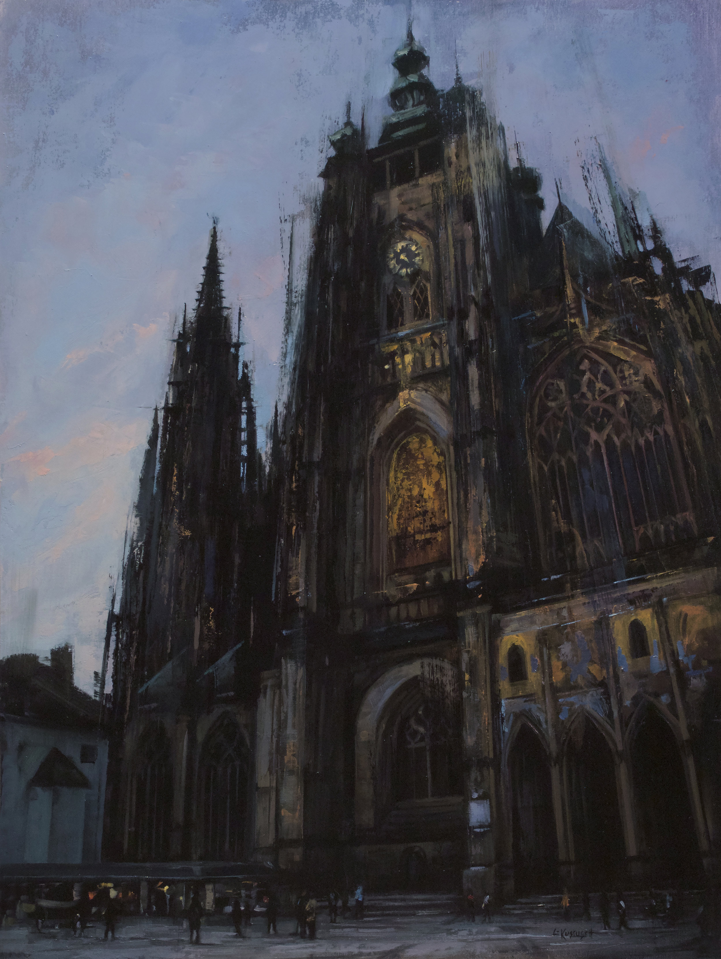 The Spires of St. Vitus