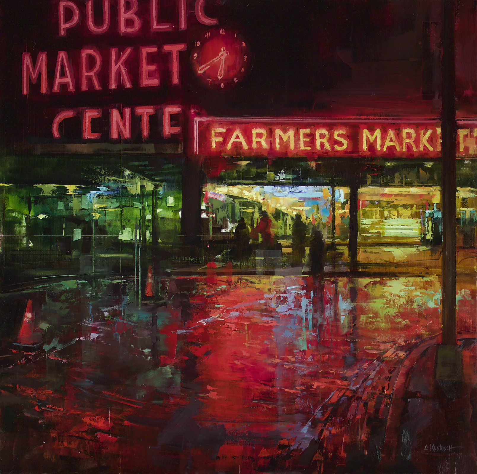 Evening at the Market