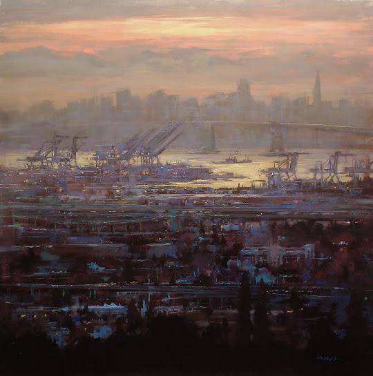 Last Light Over the Port
