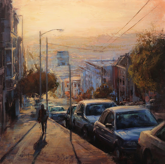 Late Afternoon Light on Nob Hill