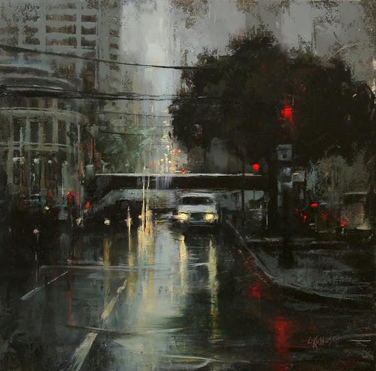 Rain on Van Ness