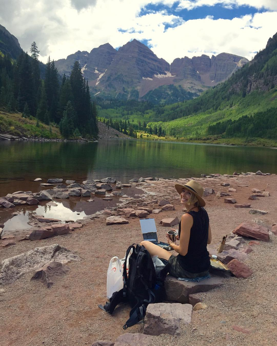 Maroon Bells, Colorado, 2016