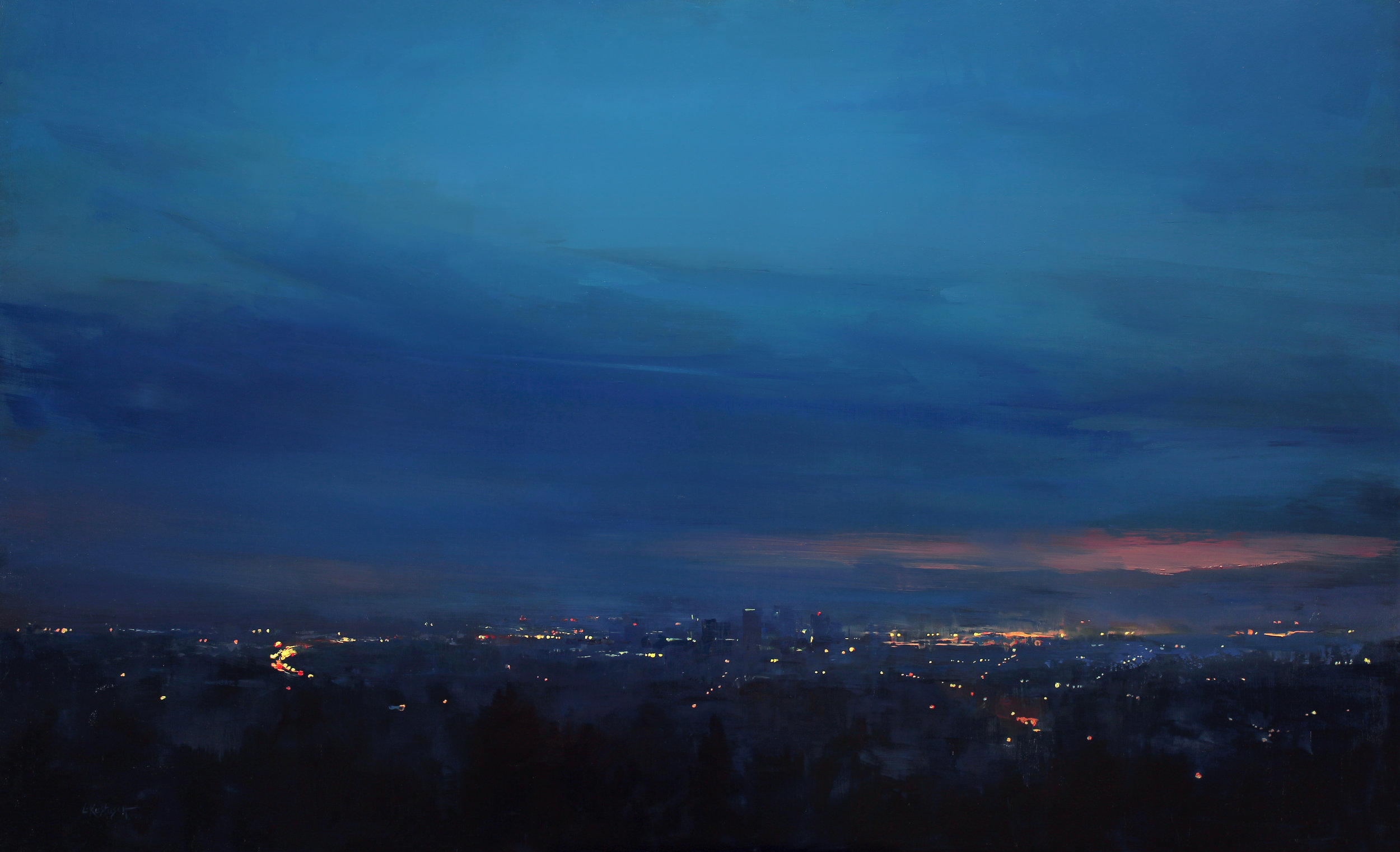 Night Falls Over the City
