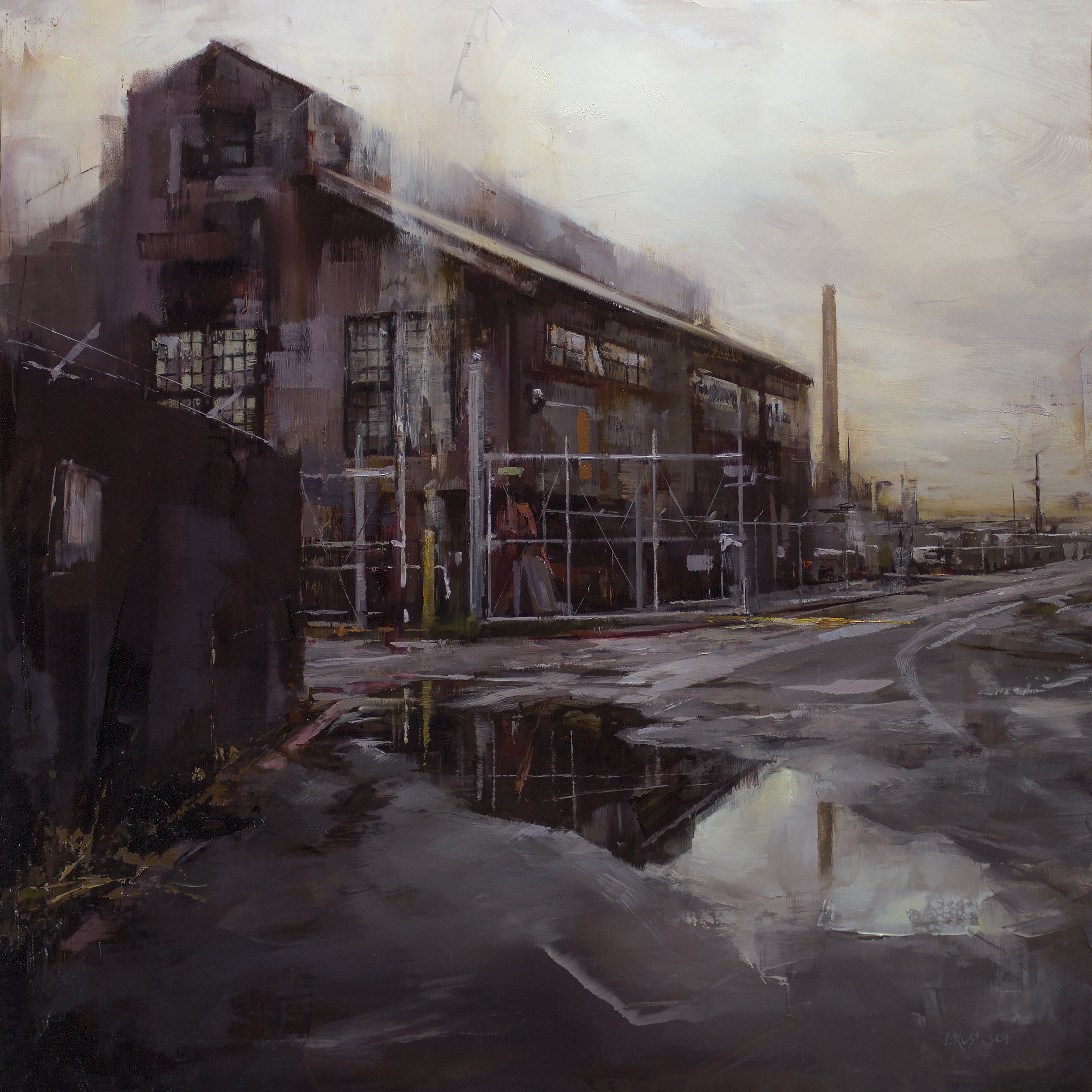 The Quiet of Old Industry