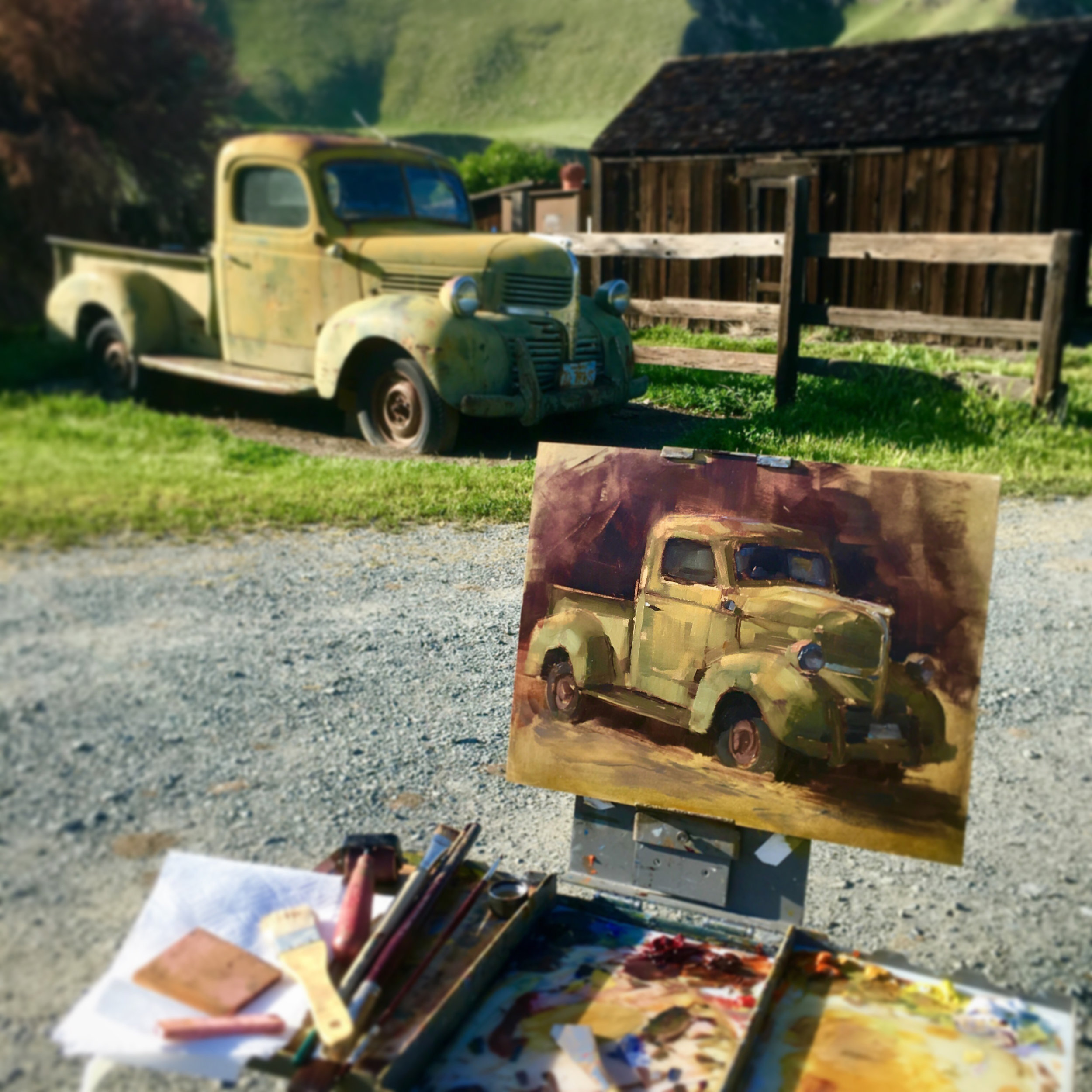 Lindsey Kustusch_On Location at Black Diamond Mines_Plein Air.jpg