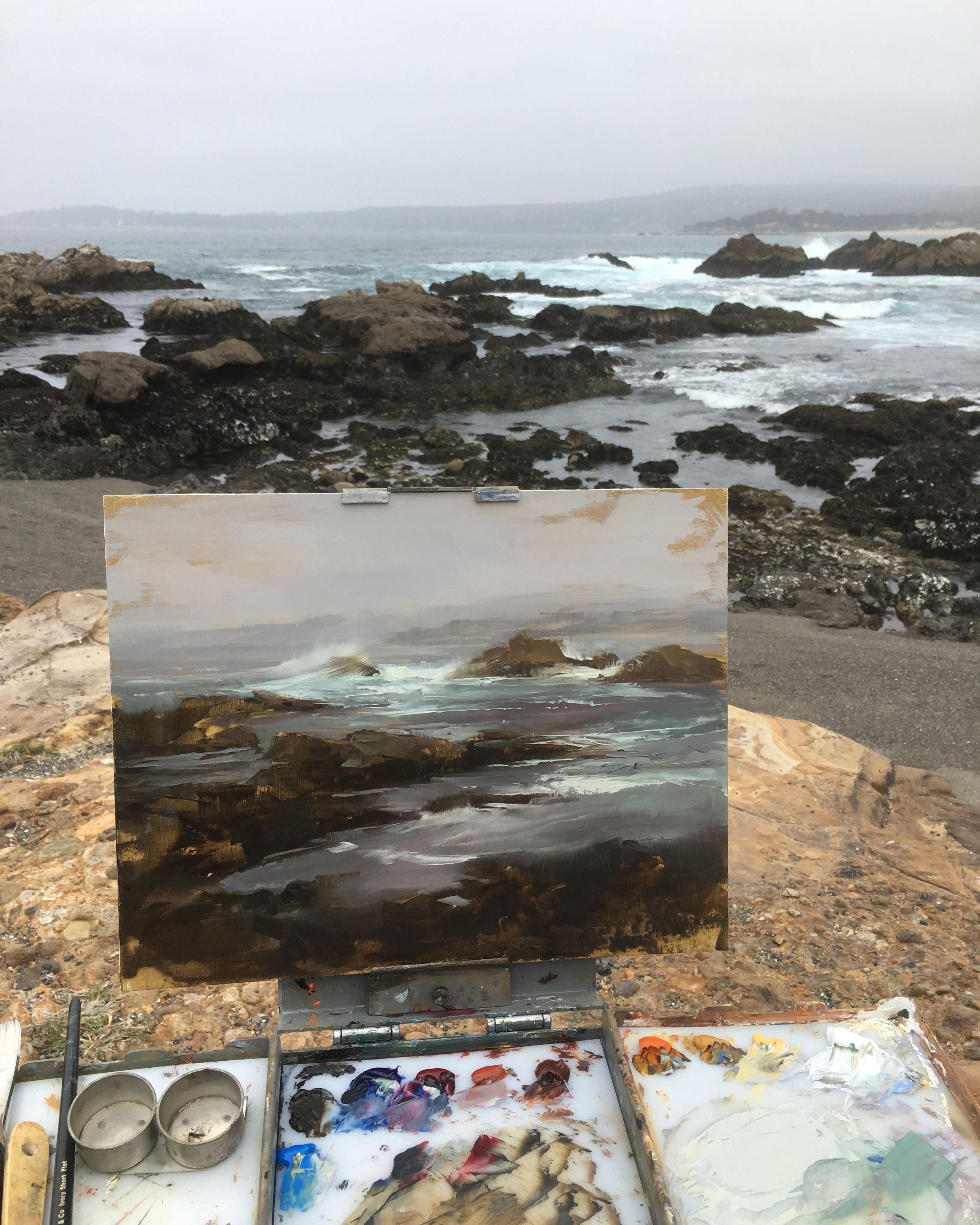 On Location at Point Lobos