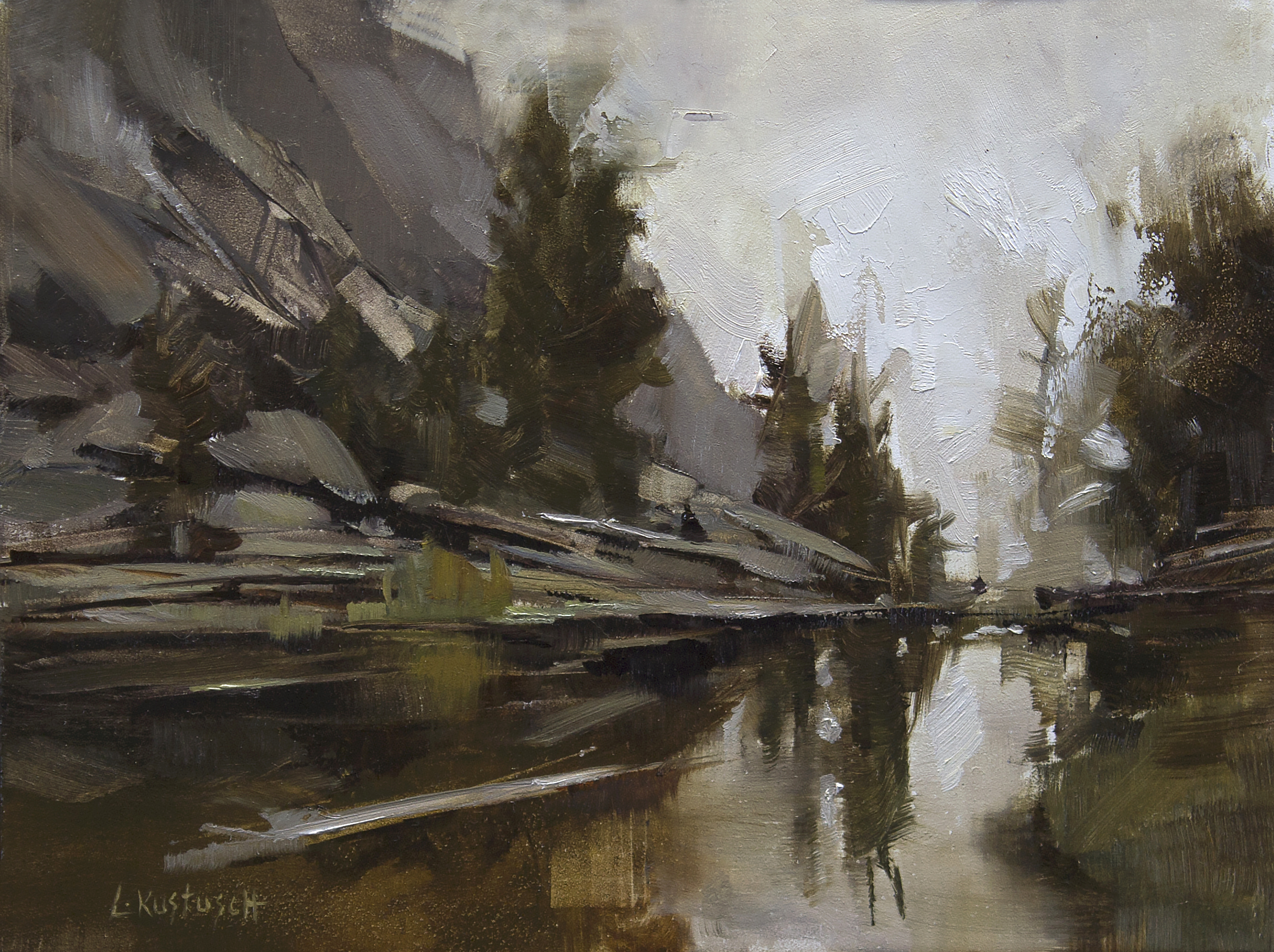 Plein Air at Gem Lake