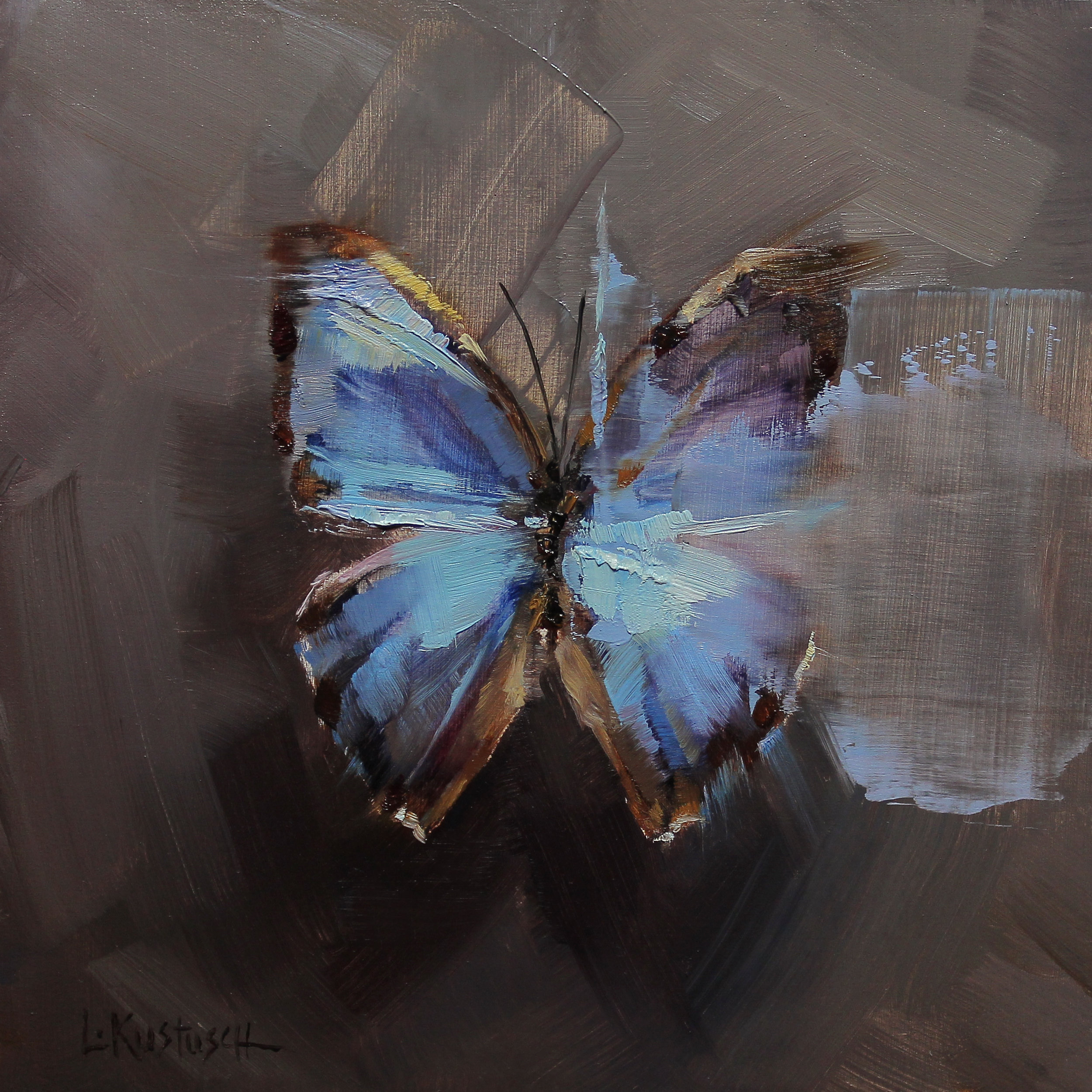 The Blue Morpho