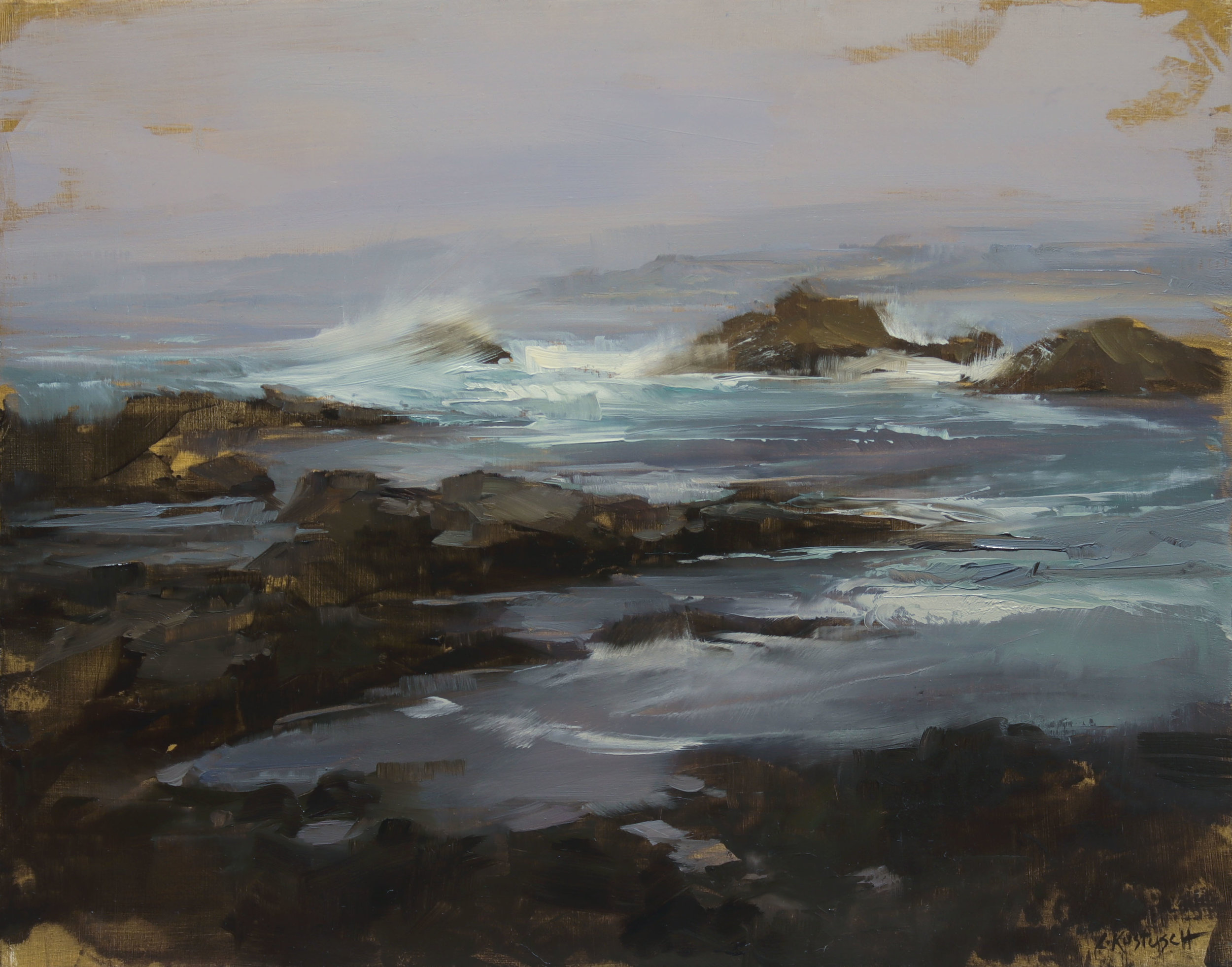 Outside the City (Plein Air at Point Lobos)