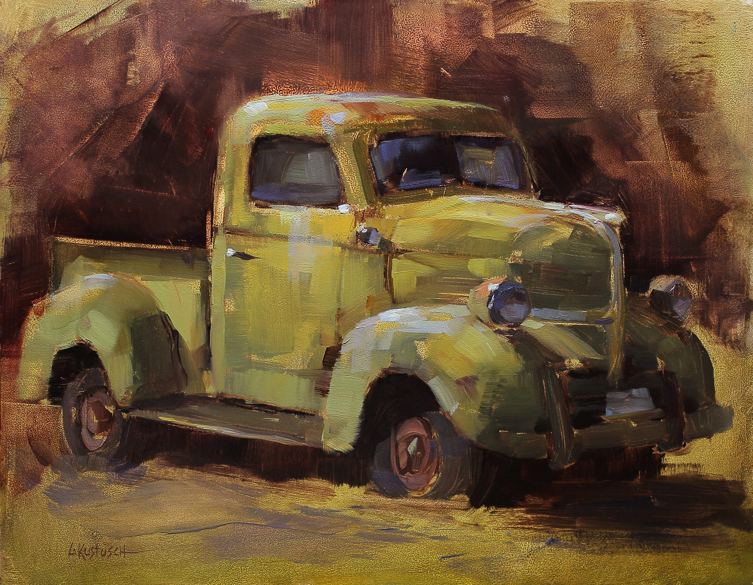 Truck Study (Plein Air at Diamond Mines)