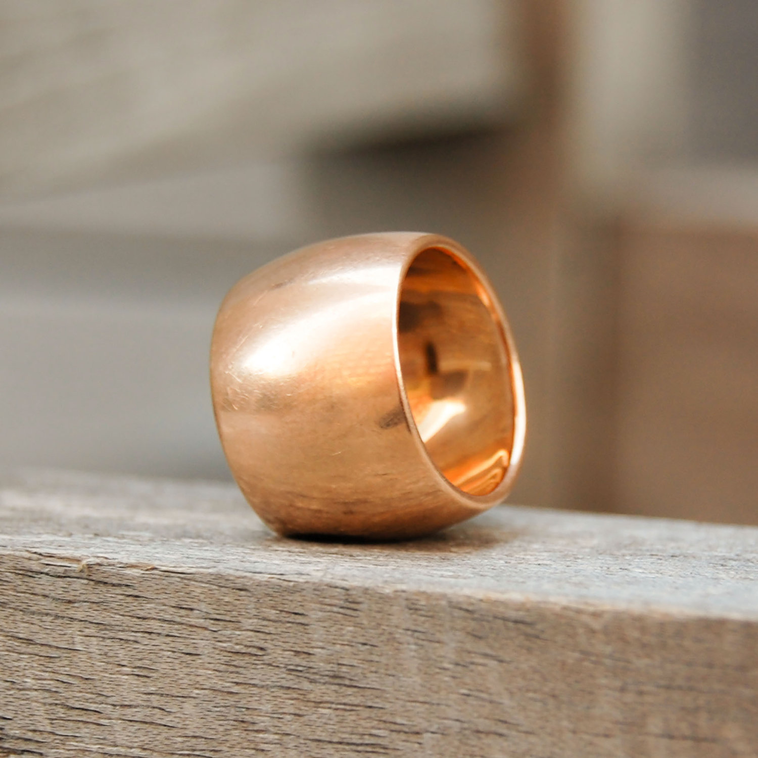 VINTAGE BRUSHED ROSE GOLD RING.jpeg