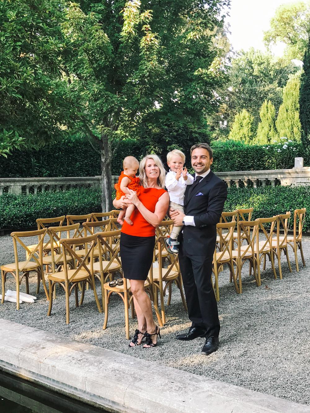 napa wedding family mom style formalwear california wine country vineyard wedding love kid style baby fashion